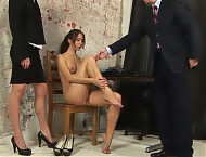 Humiliating secretary interview