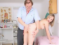 Scarlet  very dirty gyno cunt pussy spreader inspection