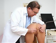 Paris  visiting gyno clinic to have pussy medical tool checked