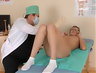 Thrilling gynecological exam