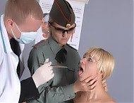 Two military medical perves